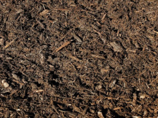 Double Ground Hardwood Shredded Mulch