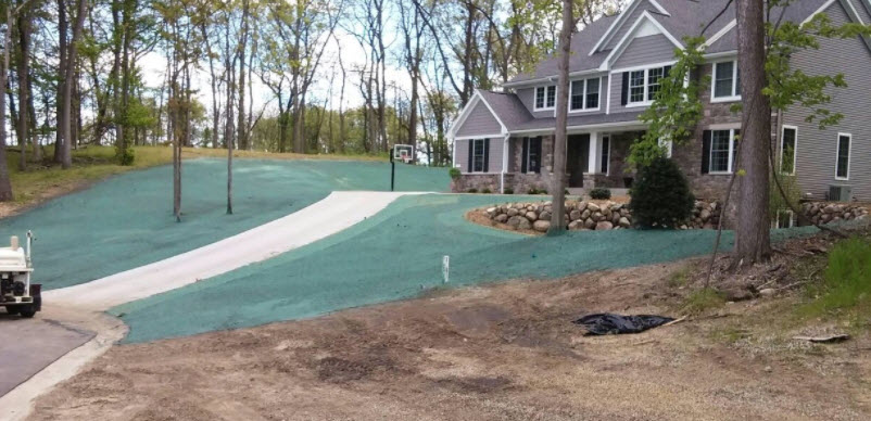 Hydro Seeding Services Battle Creek Mi Outdoor Landscape And